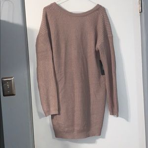 NWT Lulu's sweater dress